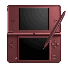 Nintendo DSi XL Wine Red Console DSi and DS Lite