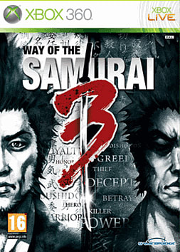 Way of the Samurai 3 Xbox 360 Cover Art