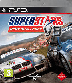 Superstars V8 Racing: Next Challenge PlayStation 3 Cover Art