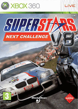 Superstars V8 Racing: Next Challenge Xbox 360 Cover Art
