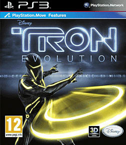 Tron Evolution: Move PlayStation 3 Cover Art