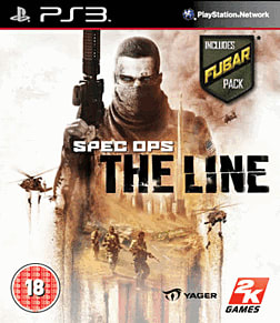 Spec Ops: The Line PlayStation 3 Cover Art