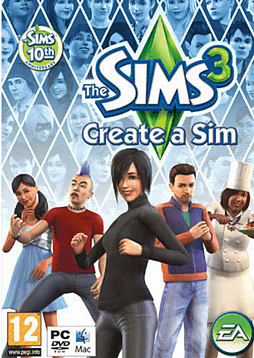 The Sims 3: Create a Sim PC Games and Downloads Cover Art
