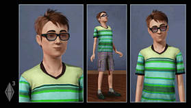 The Sims 3: Create a Sim screen shot 1