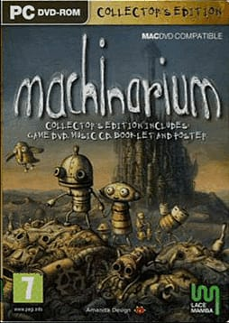 Machinarium: Collector's Edition PC Games Cover Art