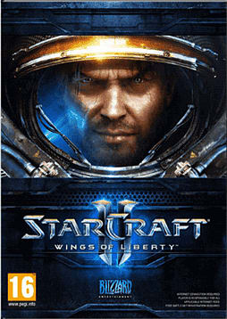 StarCraft II: Wings of Liberty PC Games and Downloads Cover Art
