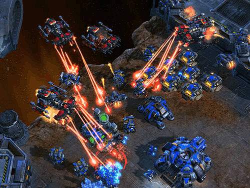 StarCraft II on PC at GAME