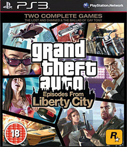Grand Theft Auto: Episodes from Liberty City PlayStation 3 Cover Art