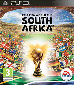 2010 FIFA World Cup South Africa PlayStation 3 Cover Art