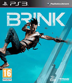 Brink PlayStation 3 Cover Art
