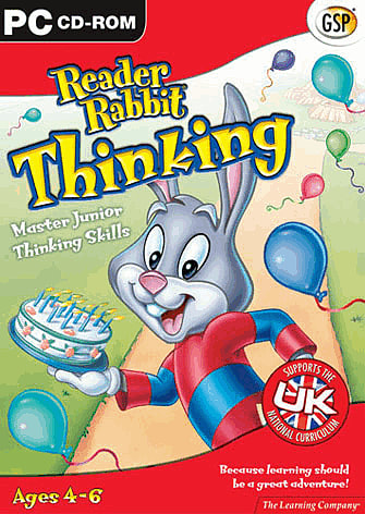 Reader Rabbit Thinking  Ages 46