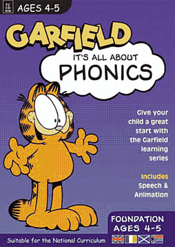 GARFIELD - It's all about PHONICS (Foundation) Ages 4-5 Computing