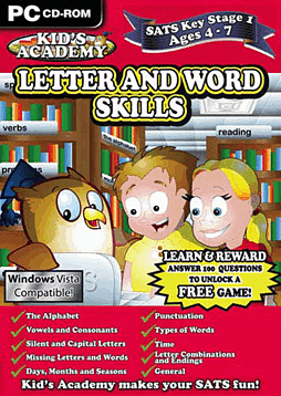 Kids Academy - Key Stage 1 - Letters and Word Skills Computing