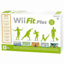 Wii Fit Plus (with Wii Balance Board)  Nintendo Wii Cover Art