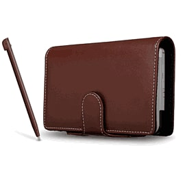 DSi XL Flip and Play Case - Chocolate Accessories