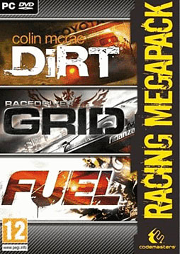 Grid, Fuel & Dirt Racing Mega Pack PC Games and Downloads Cover Art