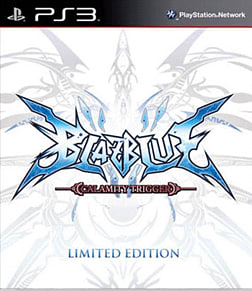 BlazBlue: Calamity Trigger Limited Edition PlayStation 3 Cover Art