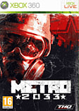 Metro 2033 GAME Exclusive Limited Edition Xbox 360