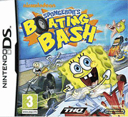 Spongebob's Boating Bash DSi and DS Lite