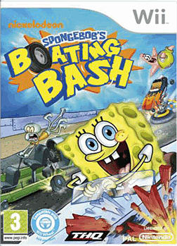 Spongebob's Boating Bash Wii Cover Art
