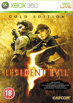 Resident Evil 5: Gold Edition Xbox 360 Cover Art