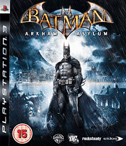 Batman: Arkham Asylum Game of the Year Edition PlayStation 3 Cover Art