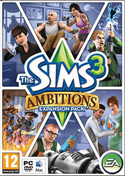 The Sims 3: Ambitions Expansion Pack PC Games and Downloads Cover Art