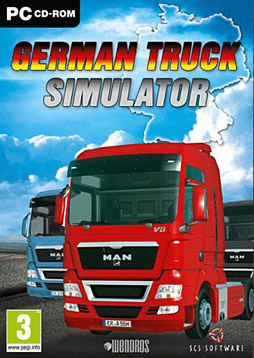 German Truck Simulator PC Games and Downloads Cover Art