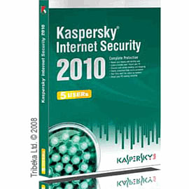 Kaspersky Internet Security 2010 5 Users 1 Year Computing