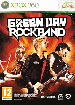 Rockband: Green Day Xbox 360 Cover Art