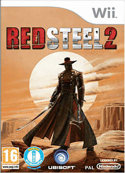 Red Steel 2 Wii Cover Art