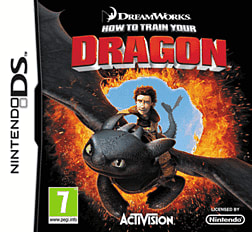 How to Train Your Dragon DSi and DS Lite Cover Art