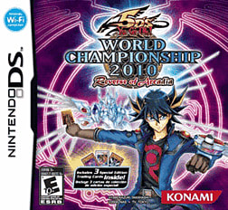 Yu-Gi-Oh! World Championship 2010 DSi and DS Lite Cover Art