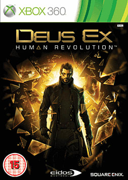 Deus Ex: Human Revolution Xbox 360 Cover Art