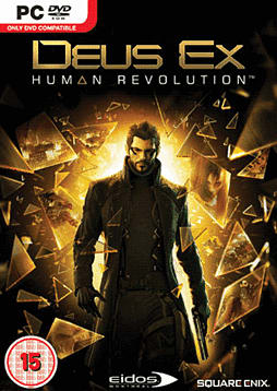 Deus Ex: Human Revolution PC Games and Downloads Cover Art