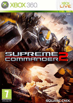 Supreme Commander 2 Xbox 360 Cover Art