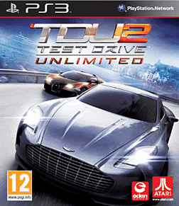 Test Drive Unlimited 2 PlayStation 3 Cover Art