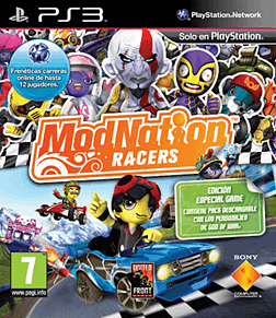 ModNation Racers PlayStation 3 Cover Art