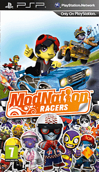 ModNation Racers PSP Cover Art