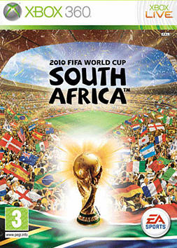 2010 FIFA World Cup South Africa Xbox 360 Cover Art