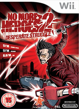 No More Heroes 2: Desperate Struggle Wii Cover Art