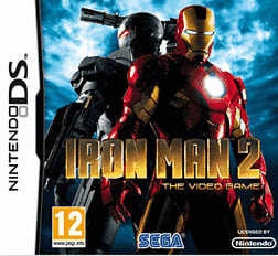 Iron Man 2 DSi and DS Lite Cover Art