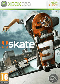 Skate 3 Xbox 360 Cover Art