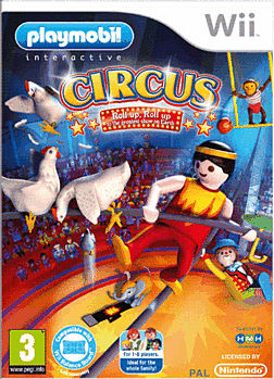 Playmobil: Circus Wii Cover Art