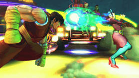 Super Street Fighter IV screen shot 4