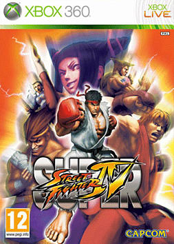 Super Street Fighter IV Xbox 360 Cover Art