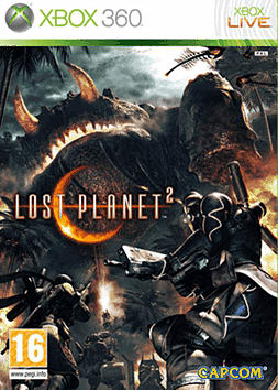 Lost Planet 2 Xbox 360 Cover Art