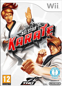 All Star Karate Wii Cover Art