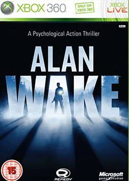 Alan Wake Xbox 360 Cover Art