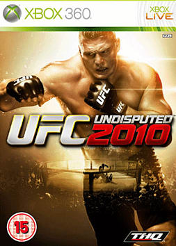 UFC Undisputed 2010 Xbox 360 Cover Art